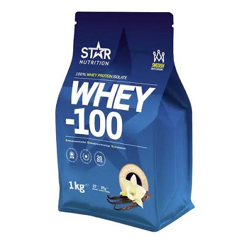 Star Nutrition Whey 100 er et klassisk og bra pulver!