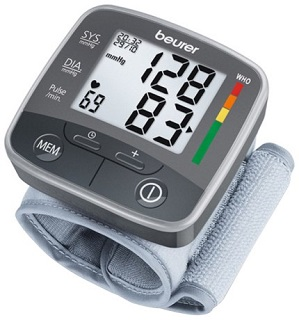 En veldig god måler for håndleddet, for å se om du har normalt blodtrykk.